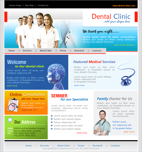 Medical or Healthcare Website Services for you, at affordable ...